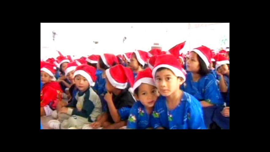 Video Jak mexické město Oaxaca slaví Vánoce