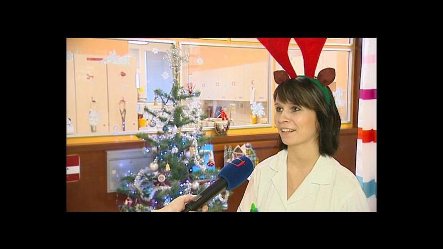 Video Vánoce v nemocnici
