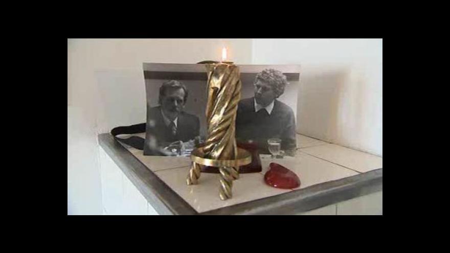 Video Otmar Oliva vzpomínal na Václava Havla