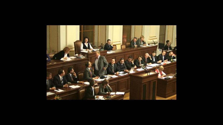 Video Hlasování Karla Schwarzenberga