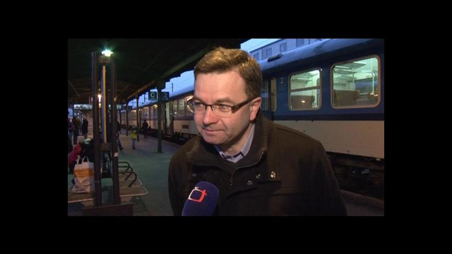 Video Lidé, kteří z Brna cestovali na pohřeb Václava Havla