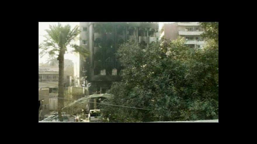 Video Série bombových útoků v Bagdádu zabila desítky lidí