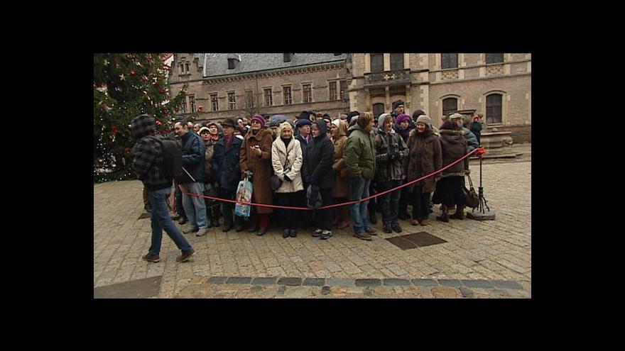 Video Havel se naposledy vrátil na Hrad