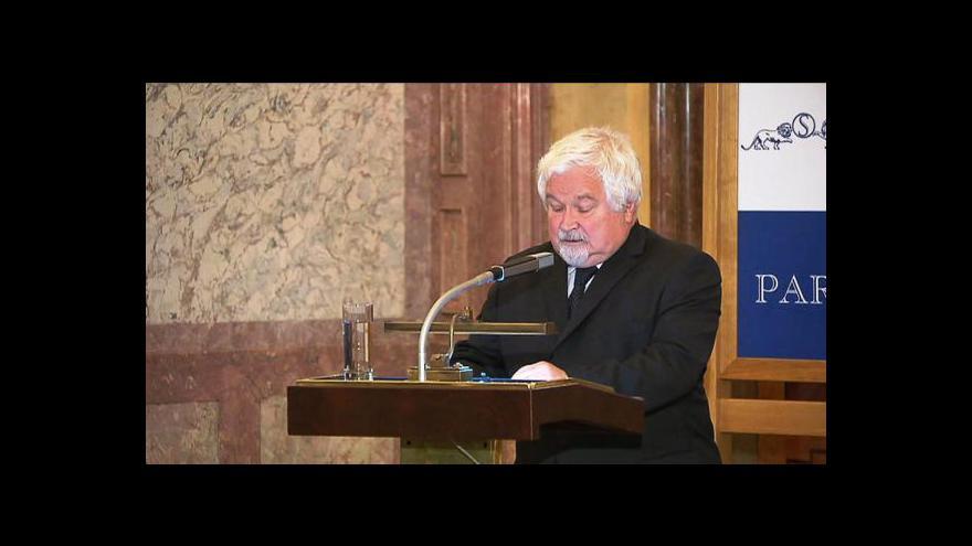 Video Pocta Václavu Havlovi v Senátu
