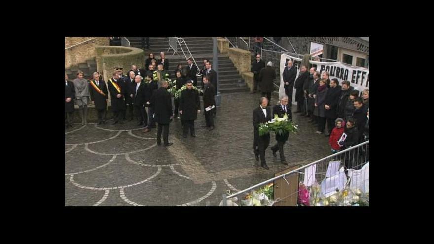 Video Reportáž o pietě v Lutychu