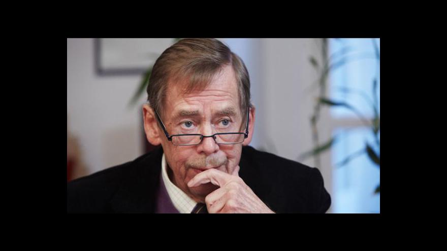 Video Václav Havel - z dramatika politikem