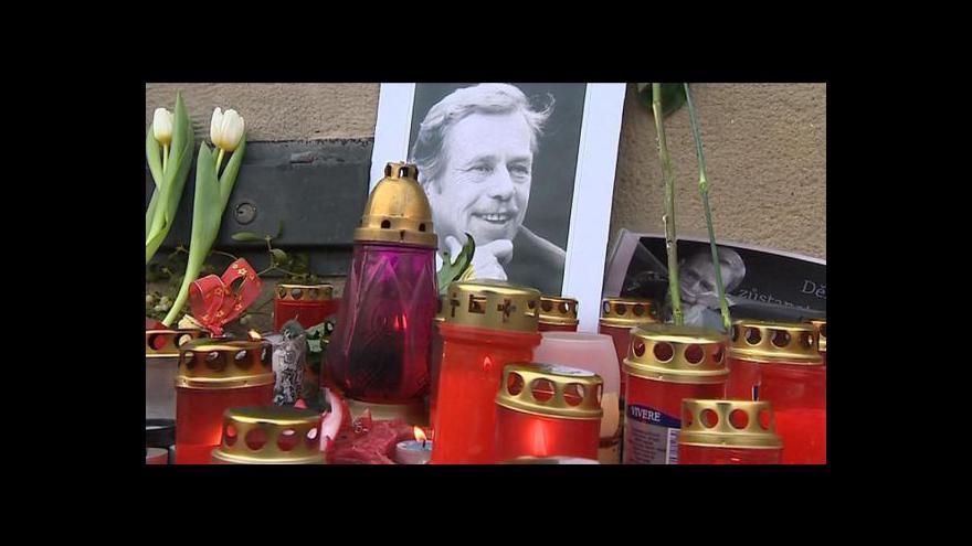 Video Vzpomínání na Václava Havla tématem Událostí, komentářů