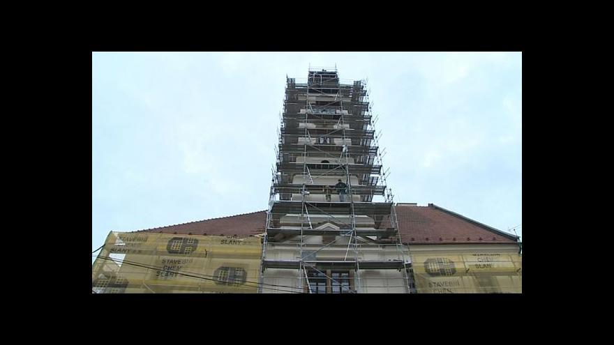 Video Starosta Uherského Brodu Patrik Kunčar o opravách fasády radnice