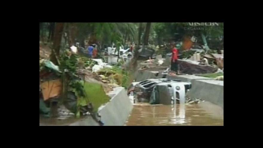 Video Reportáž o bouři na Filipínách