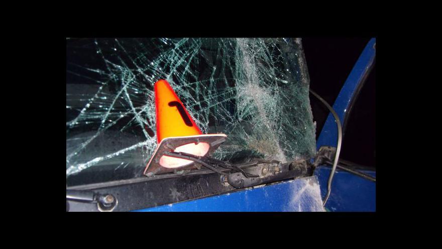 Video Mluvčí hasičů Ivo Mitáček o nehodě