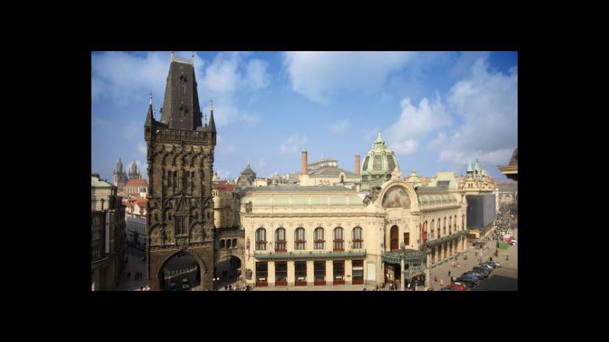 Video Honeggerova 1. symfonie v Obecním domě
