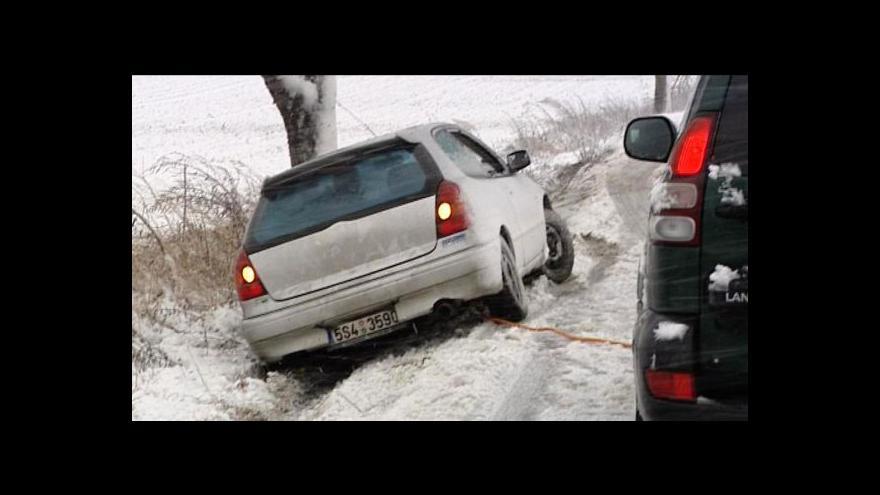 Video Česko zasypaly přívaly sněhu