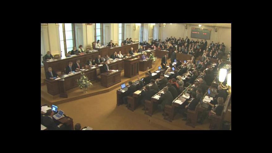 Video Schvalovací maraton v Poslanecké sněmovně