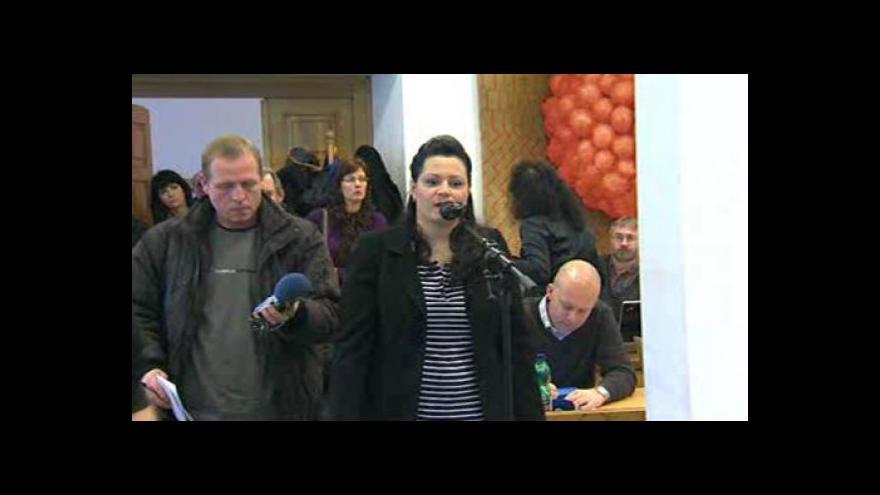 Video Reakce obyvatelky Poličné Ilony Rafajové k zastupitelům