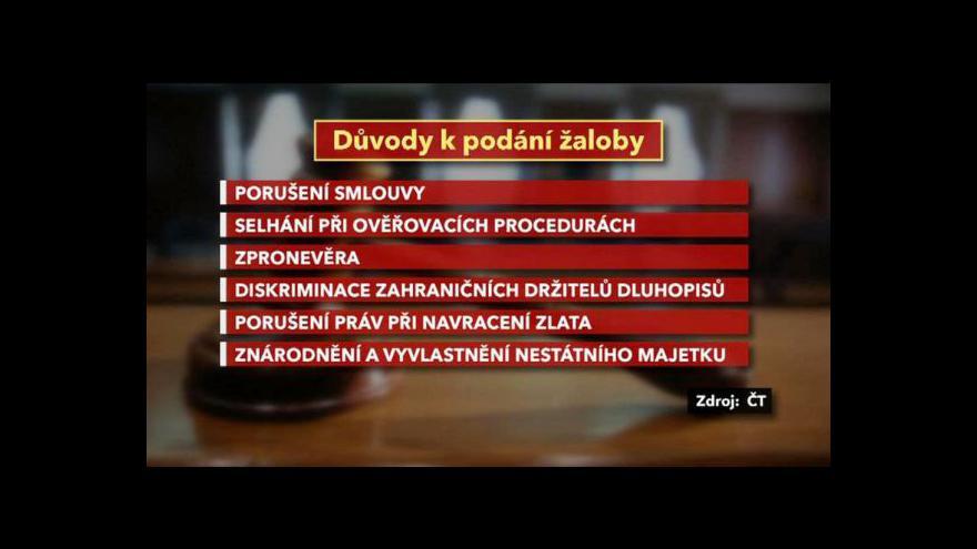 Video Reportáž Jitky Szászové a Antonína Bruštíka