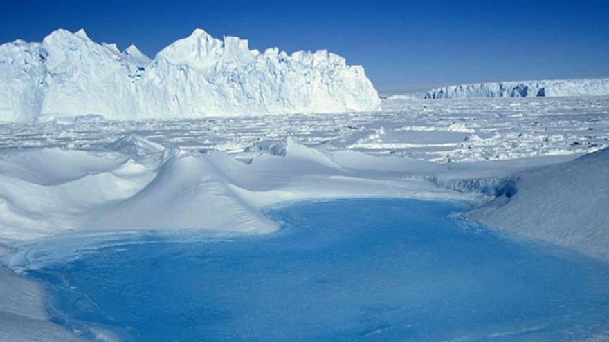 Video Tání ledovců v Antarktidě