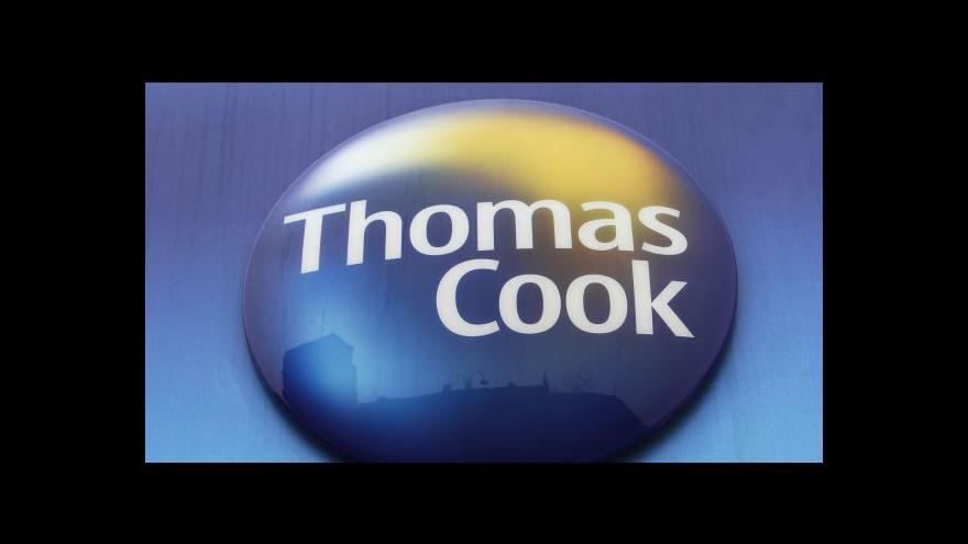 Video Thomas Cook plánuje zavřít až 200 poboček