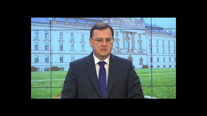 Video Vláda projedná půjčku MMF