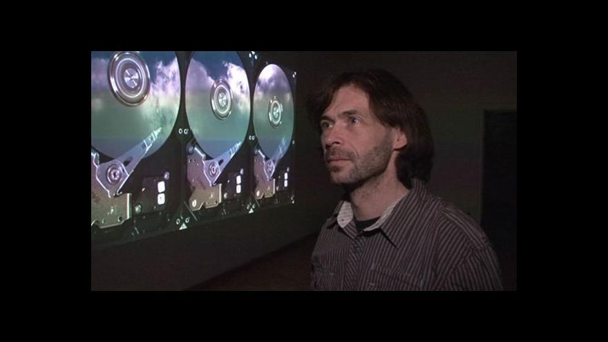 Video Výtvarník Pavel Mrkus o souboru videoinstalací