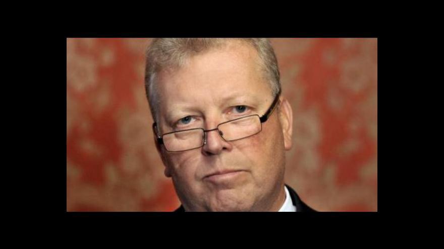 Video Prezident Klaus převezme od Nečase Besserovu demisi