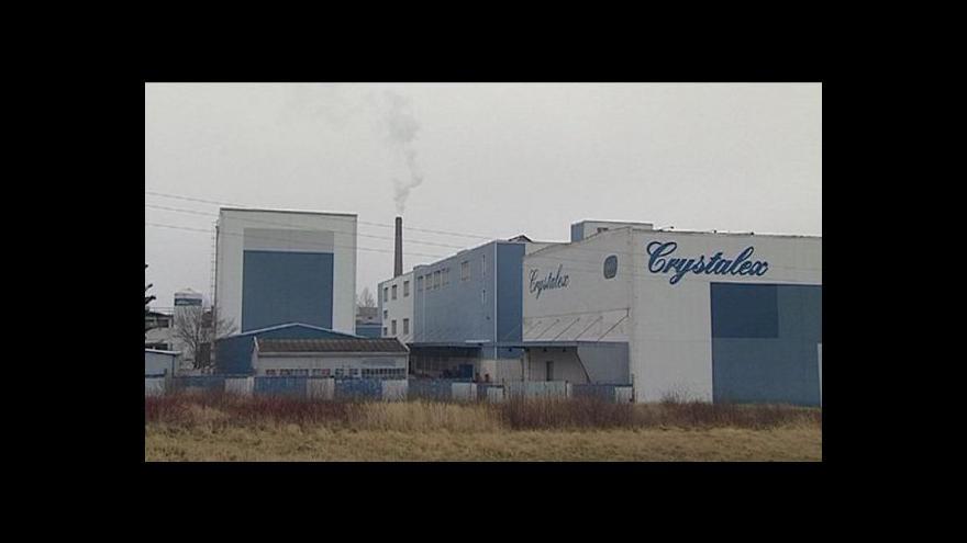 Video Crystalex propouští