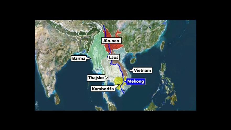 Video V povodí Mekongu našli 200 nových druhů