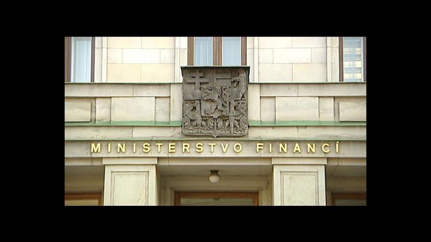 Video Brífink MF ke strategii financování dluhu