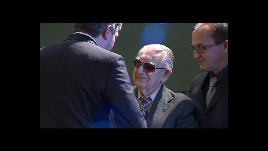 Video Josef Fleischlinger slavi 100 let