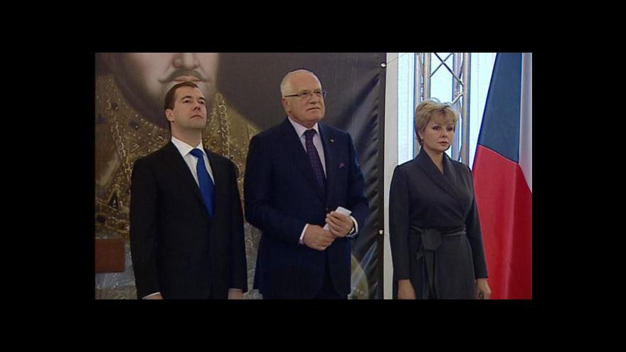 Video TK k zahájení výstavy na Pražském hradě