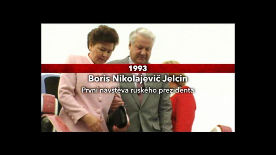 Video Přehled návštěv sovětských a ruských státníků