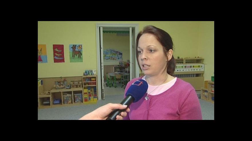 Video Ředitelka školky Lenka Čoupková o výjimce hygieny