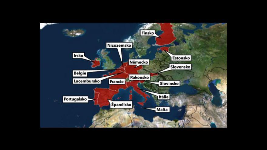 Video Většině zemí eurozóny hrozí snížení ratingu