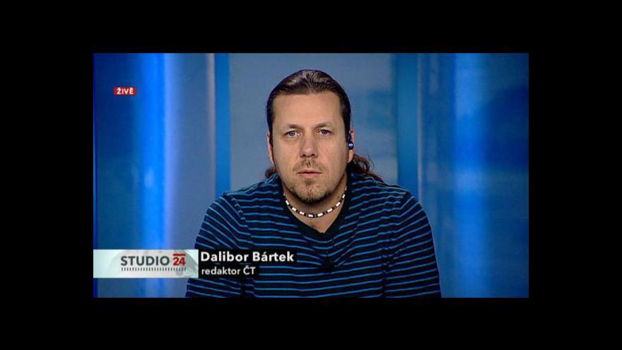 Video Rozhovor s redaktorem ČT Daliborem Bártkem
