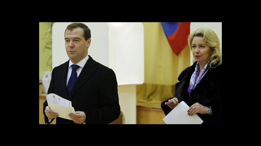 Video Rusko volí novou Státní dumu