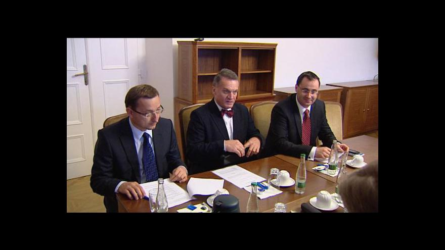 Video Boris Šťastný a Karel Březina v Událostech, komentářích