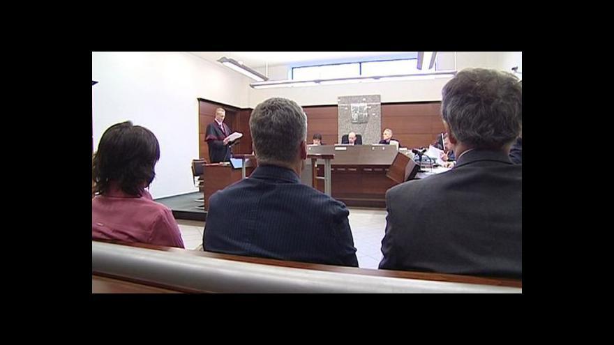 Video Milan Brunclík z libereckého soudu