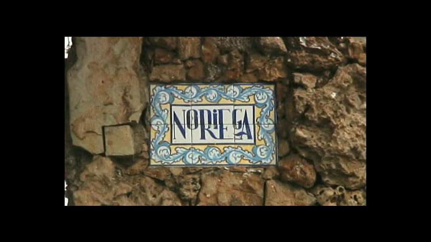 Video Noriega se vrací do Panamy