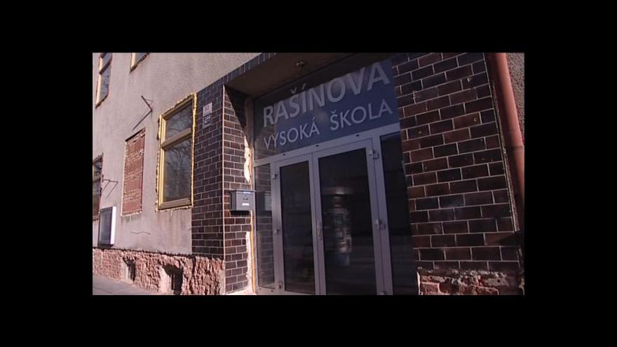 Video Studenti Rašínovy vysoké školy o své situaci
