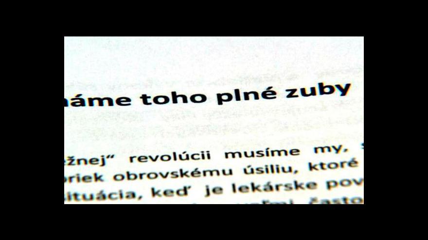 Video Slovenská vláda projedná postup kvůli nespokojeným lékařům