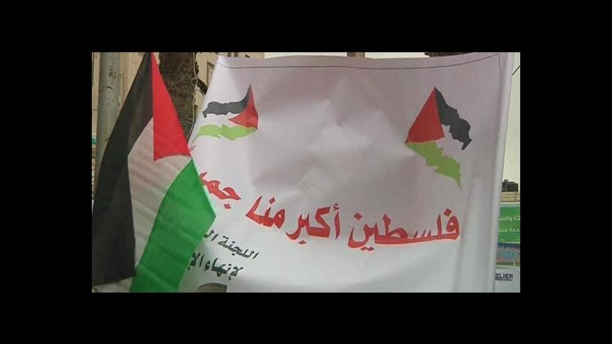 Video Káhira: palestinští lídři schválí plán voleb