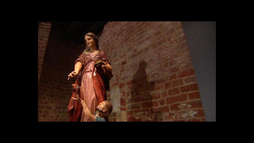 Video Z Anežského kláštera informuje Barbora Peterová