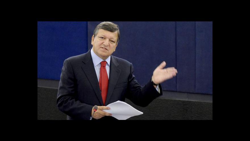 Video TK José Barrosa k situaci v eurozóně