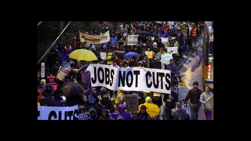 Video Okupujte Wall Street neutichá
