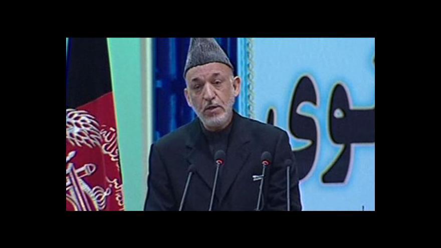 Video V Afghánistánu zasedá Velká džirga
