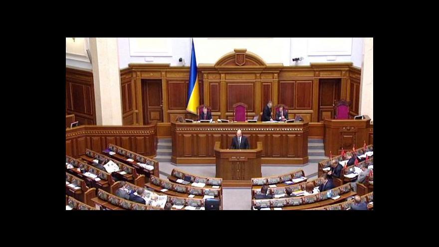 Video Ukrajinský parlament projedná zmírnění trestů
