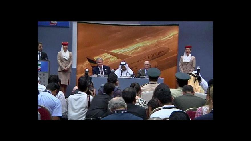 Video Emirates nakupují ve velkém