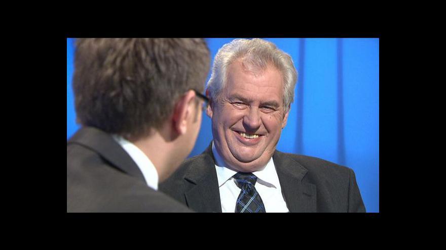 Video Rozhovor s Milošem Zemanem