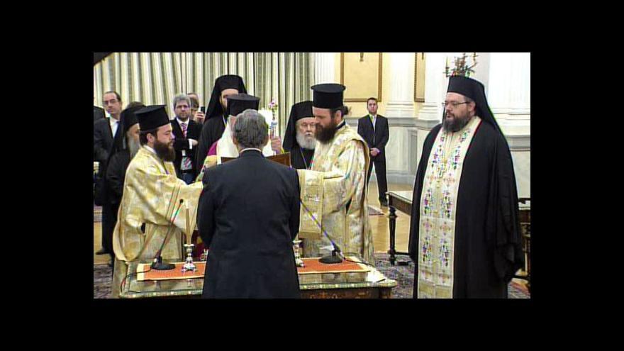 Video Nová řecká vláda složila přísahu