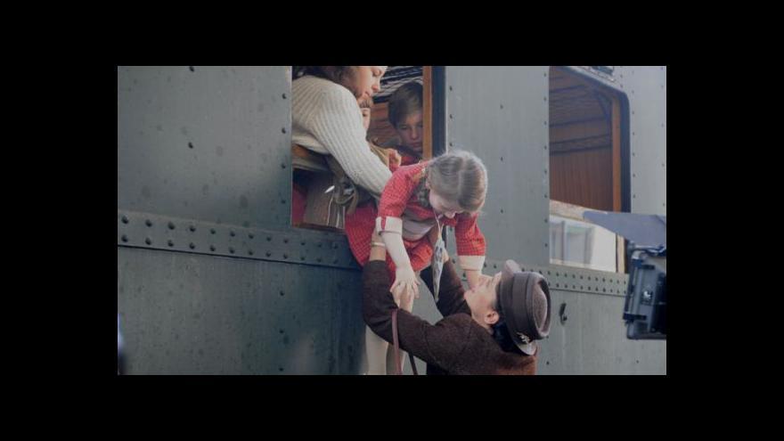 Video Nickyho rodina měla premiéru v  Londýně