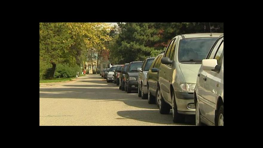 Video Parkování v Kopřivnici